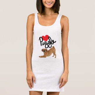 Puggle Lovers Tshirt Dress by Mini Brothers