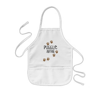 Puggle Mom Kids Apron