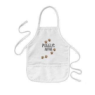 Puggle Mom Kids Apron