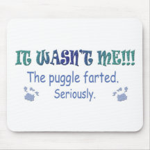 Puggle Mouse Pads