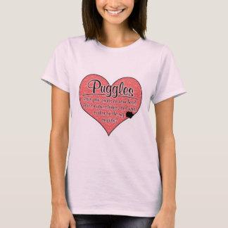 Puggle Paw Prints Dog Humor T-Shirt