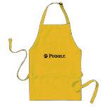 Puggle (pirate style w/ pawprint) apron