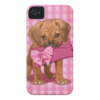 Puggle Puppy iPhone 4 Cases