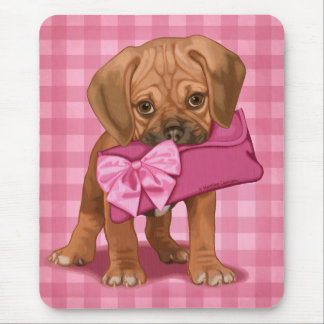 Puggle Puppy Mouse Mat