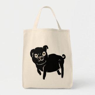 Puggy Doodle Canvas Bag