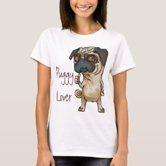 Puggy Lover Cute Tank Top