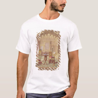 Pugin's Gothic Furniture, by Augustus Charles Pugi T-Shirt