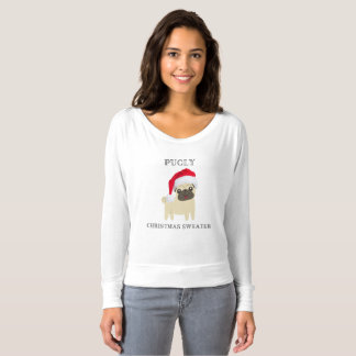 Pugly Christmas Sweater T-Shirt