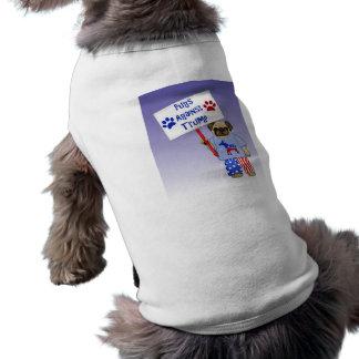 Pugs against Trump Shirt