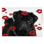 Pugs and Kisses Note Card