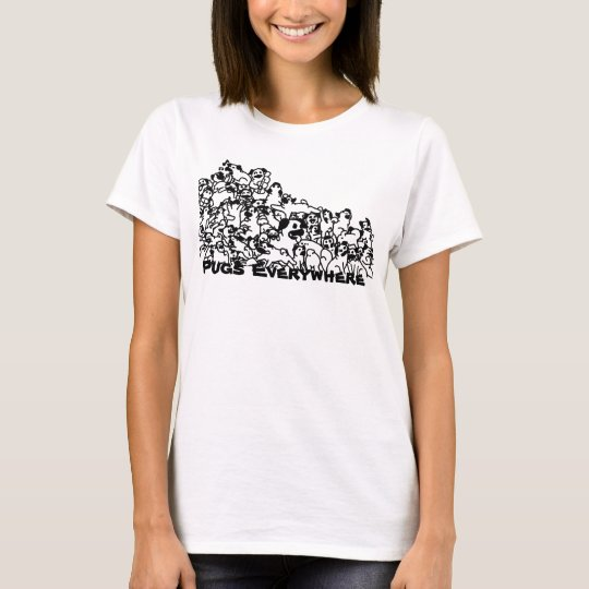 Pugs Everywhere T-Shirt