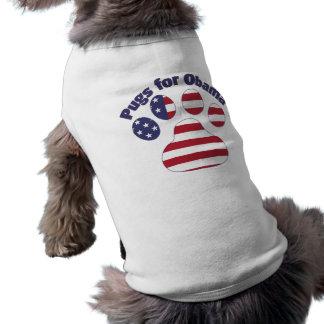 Pugs for Obama.png Sleeveless Dog Shirt