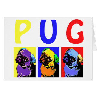 Pugs Greeting Card