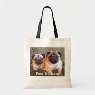 Pugs & Kisses Tote Bag