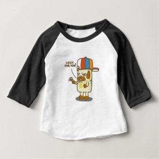 Pugs Life Baby Apparel 3/4 Sleeve Raglan T-Shirt