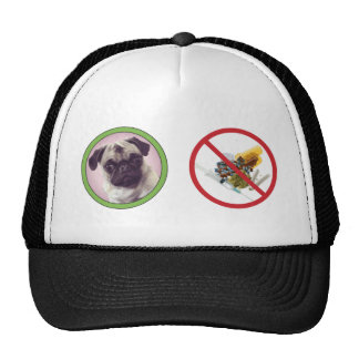 Pugs not drugs baseball hat.png cap