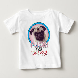 Pugs not drugs.png baby T-Shirt