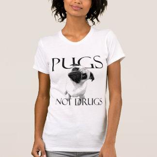 Pugs Not Drugs Tshirts
