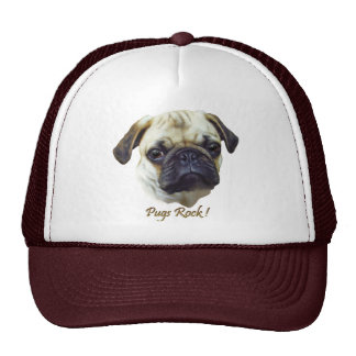 Pugs-Rock Cap