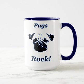 Pug's rock mug