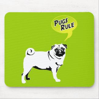 Pugs Rule Mouse Pad