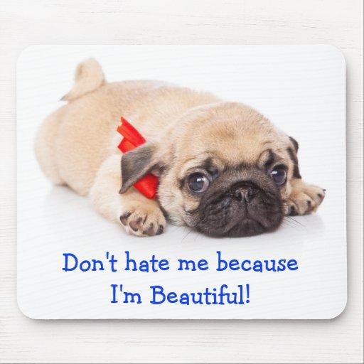 Pugs Rule Puppy Mousepad