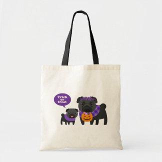 Pugs Trick Or Treat Bag