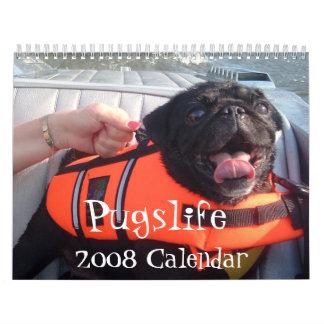 Pugslife 2008 Calendar
