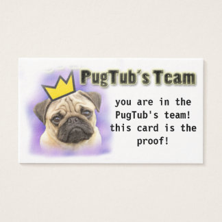 PugTub's Team card