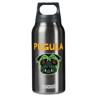 Pugula the Vampire Dog Insulated Water Bottle