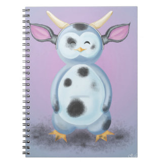 Puik-Puik is disguised in filthy cow Spiral Notebook
