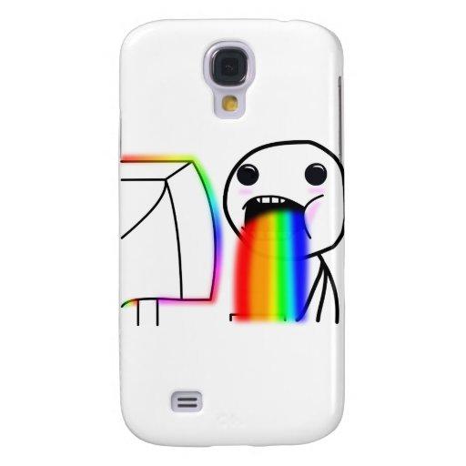 Pukes Rainbows Galaxy S4 Cover