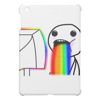 Pukes Rainbows Case For The iPad Mini