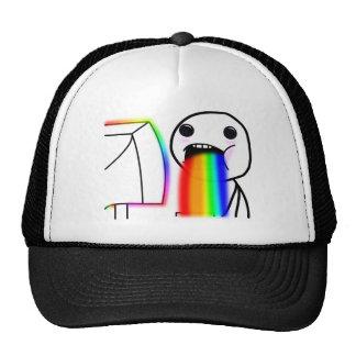 Pukes Rainbows Trucker Hat