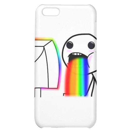 Pukes Rainbows iPhone 5C Cases