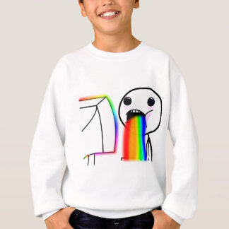 Pukes Rainbows Sweatshirt