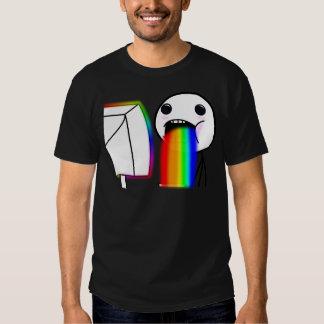 Pukes Rainbows Tee Shirt