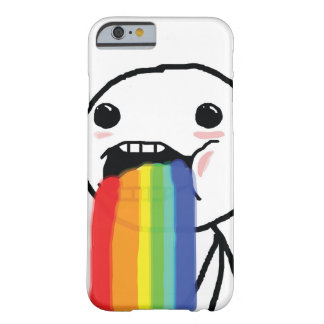 Puking Rainbows Barely There iPhone 6 Case