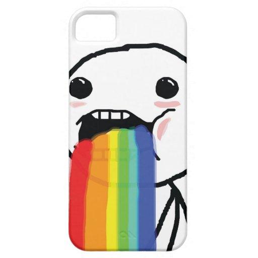 Puking Rainbows iPhone 5 Cover