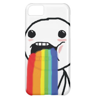 Puking Rainbows iPhone 5C Cases