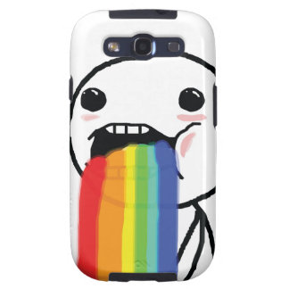 Puking Rainbows Galaxy SIII Cases