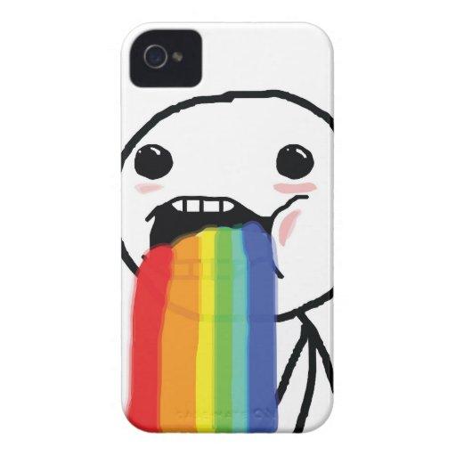 Puking Rainbows Case-Mate iPhone 4 Case