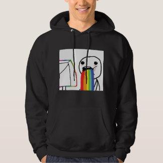 Puking Rainbows Hoodie