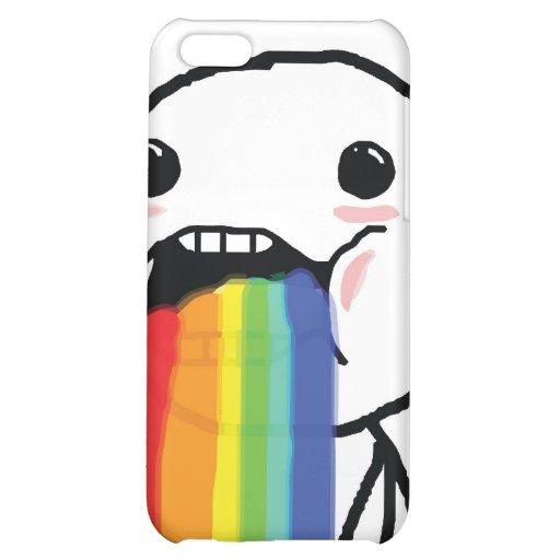 Puking Rainbows iPhone 5C Covers