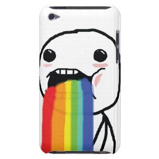 Puking Rainbows iPod Case-Mate Case