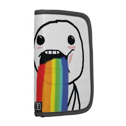 Puking Rainbows Planners