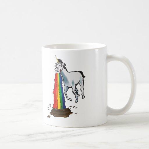 Puking Unicorn Mug