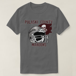 PULASKI COUNTY MAROONS  KENTUCKY  FOOTBALL T-Shirt