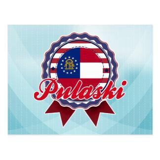 Pulaski, GA Postcard
