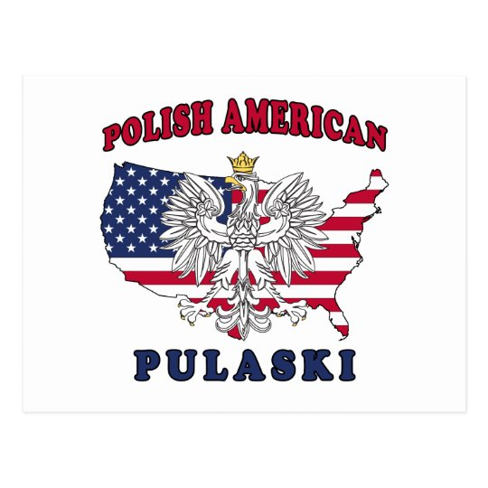 Pulaski Wisconsin Polish Postcard